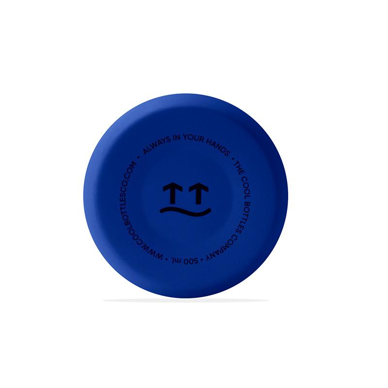 Botella de acero inoxidable Vivid Blue