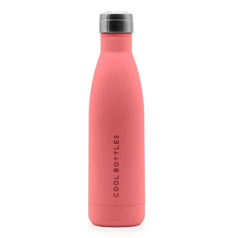 Tú botella de acero inoxidable - Pastel Coral 2