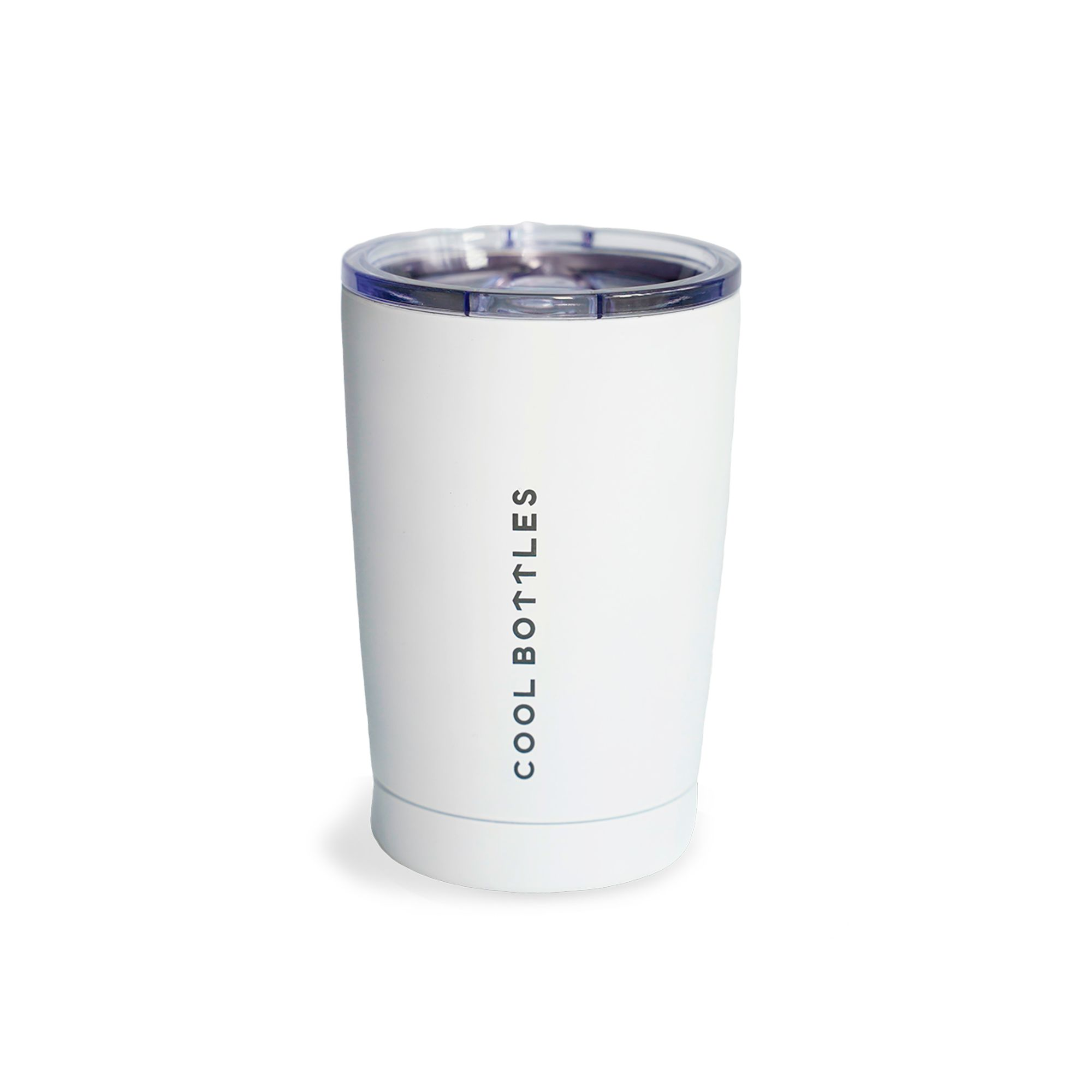 Vaso de acero inoxidable Mono White
