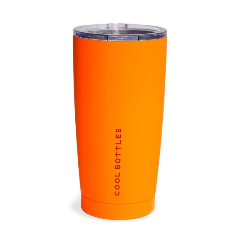Vaso de acero inoxidable Vivid Orange 550