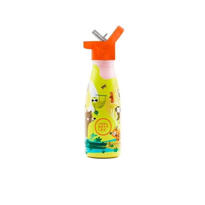 Jungle Park es su primera Cool Bottles™ Kids. Una botella de acero inoxidable que forma parte de Cool Bottles™ Kids.